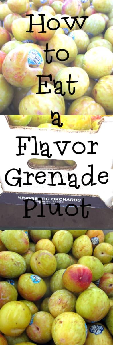 Flavor Grenade Pluots