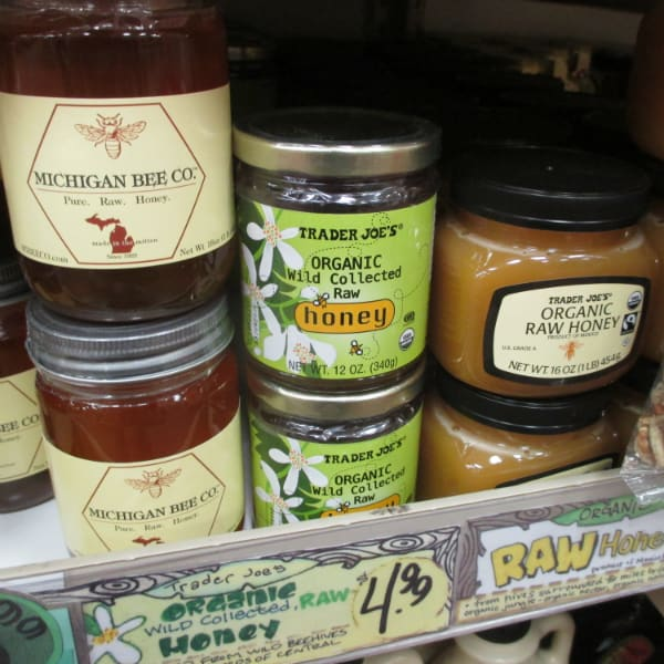 Trader Joe's Raw Organic Honey
