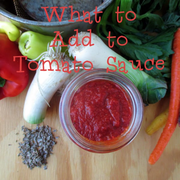 What to Add to Tomato Sauce