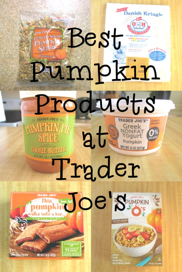 Best Pumpkin Products at Trader Joe's
