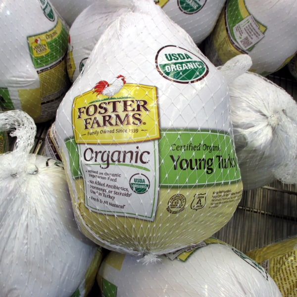 Foster Farms Organic Turkey at Costco