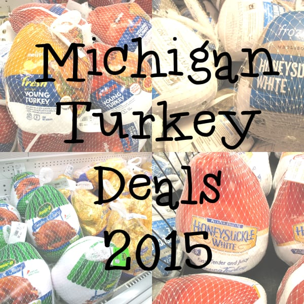 Michigan Turkey Deals Sales 2015