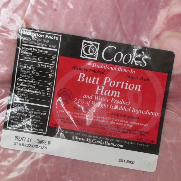 Cook's Ham Label