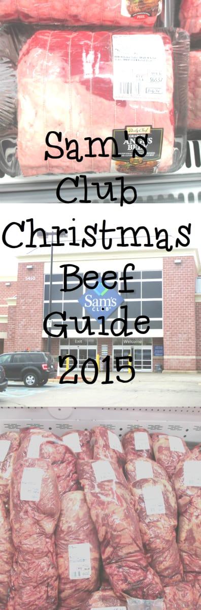 Sam Club Beef Guide 2015 Christmas
