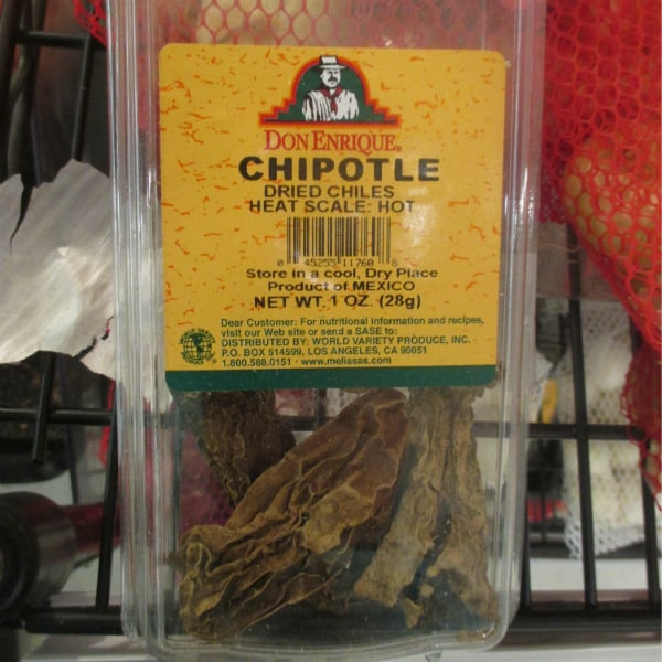 Dried Chiptole Chiles