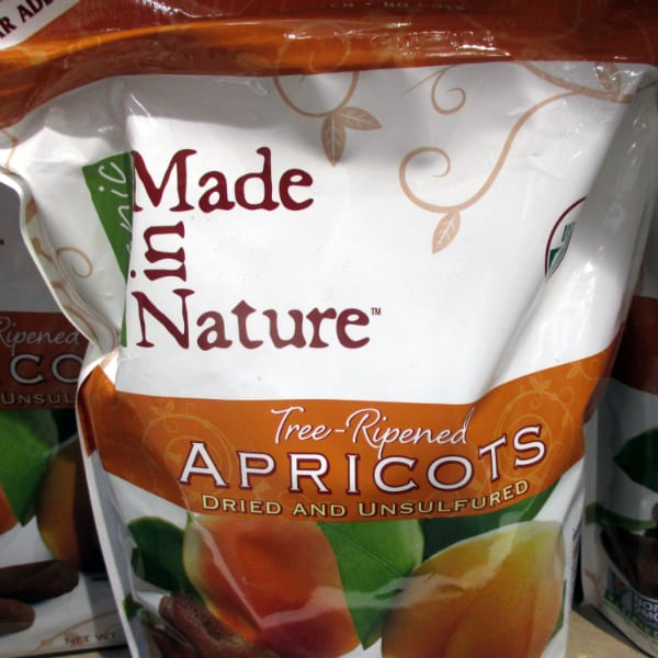 Made in Nature Apricots bags