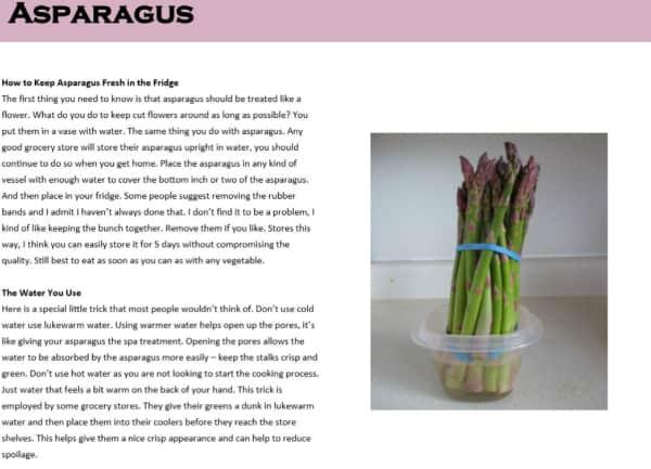 Asparagus EBook
