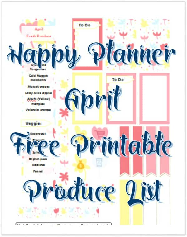 April FP Pritnable Front Image