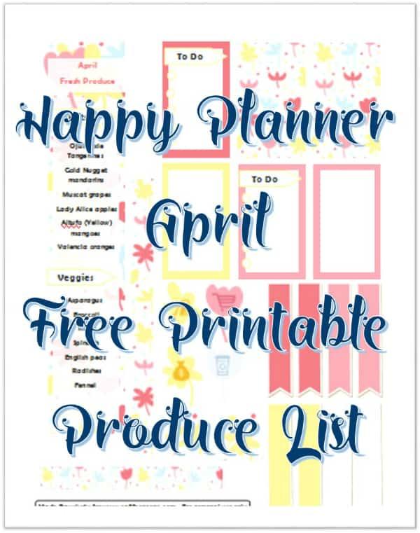 April FP Pritnable Front Image