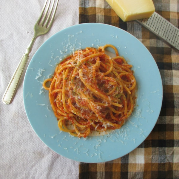Vidalia Onion Tomato Sauce