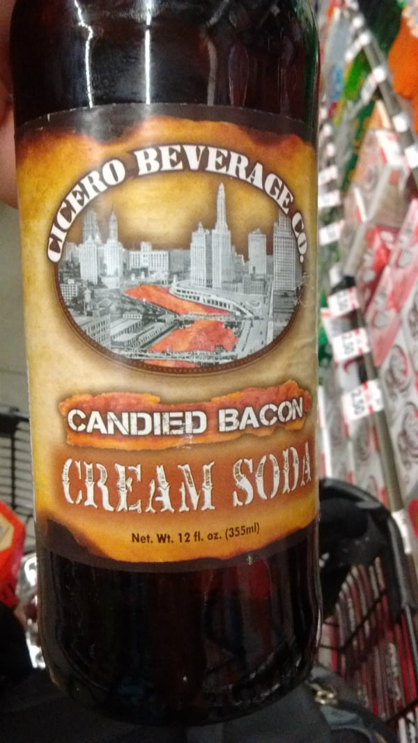 Cicero Candied Bacon Cream Soda. Never seen this flavor anywhere else!