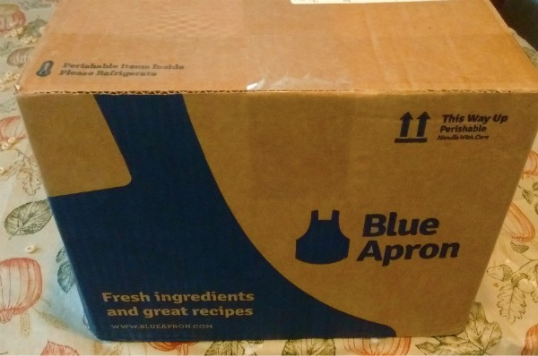 Blue Apron Delivery Box