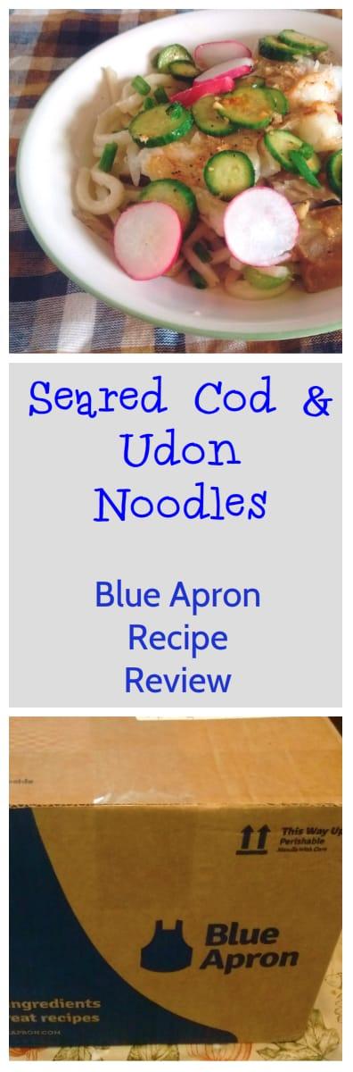 Seared Cod & Udon