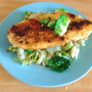 Blue Apron Review – Crispy Chicken Milanese