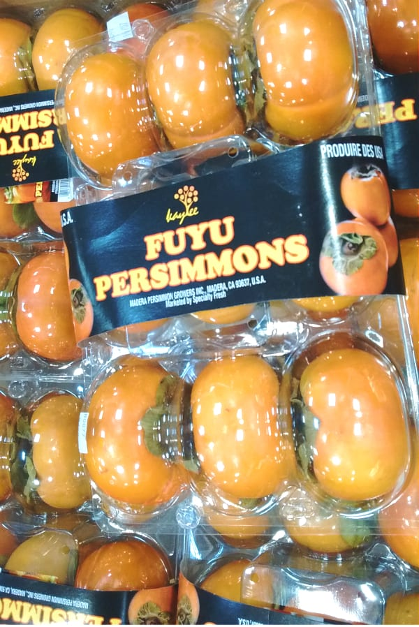 Persimmons are now in season. Do you Fuyu?