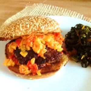 Blue Apron Review – Fresh Pimento Cheeseburgers