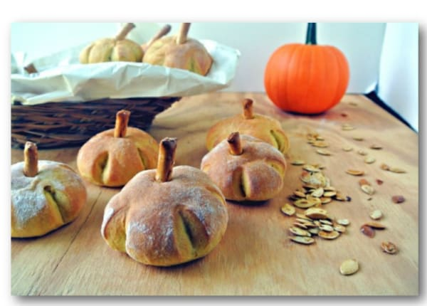Learn how to make these cute pumpkin yeast rolls for your dinner table.