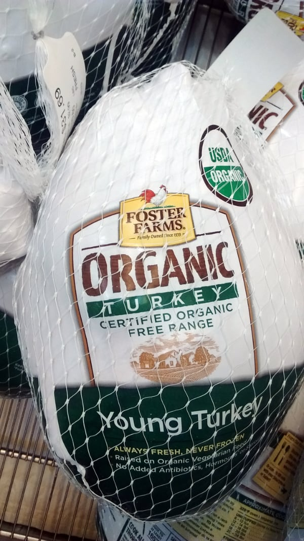 Foster Farms Organic Turkey Costco 2016