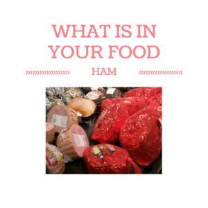 What Ingredients are Found In Ham?