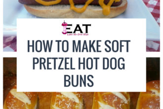 How to Make Soft Pretzel Hot Dog Buns Food Network Sandwich King Jeff Mauro