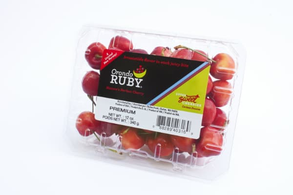 Orondo Ruby cherries from Washington
