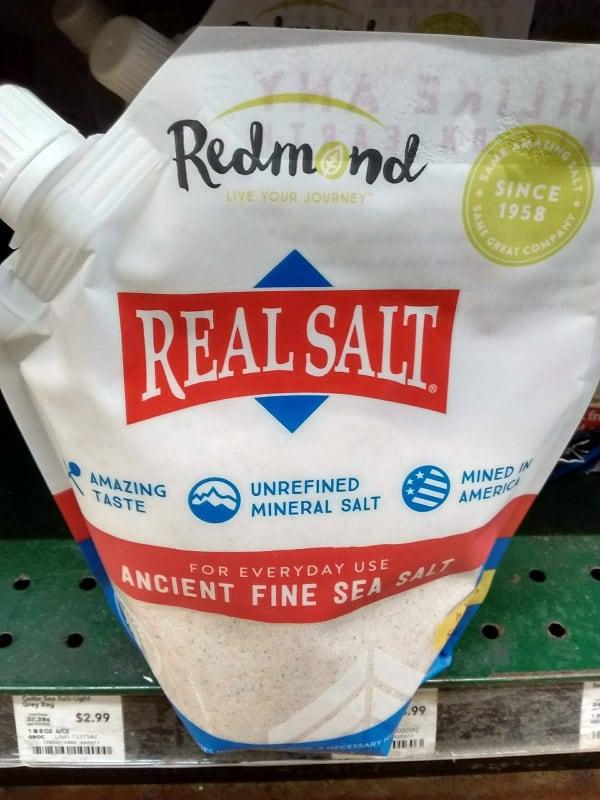 Real Salt Refill Pouch