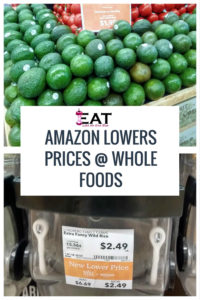 Amazon Lowers Prices at Whole Foods Market what price changes did Amazon make