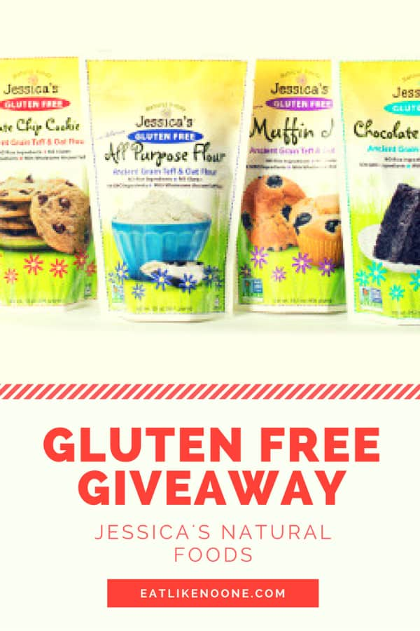 Gluten free food giveaway flour mix jessica's natural