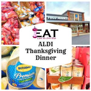 ALDI Thanksgiving Dinner Checklist Price List
