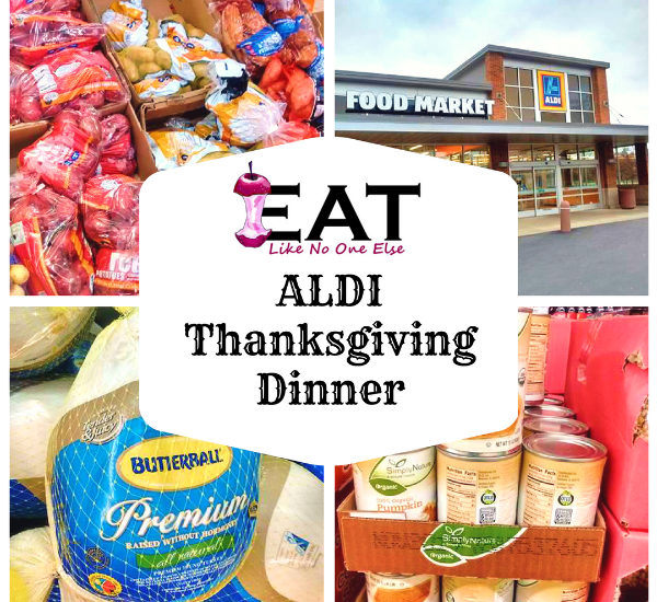 ALDI Thanksgiving Dinner Checklist Price List