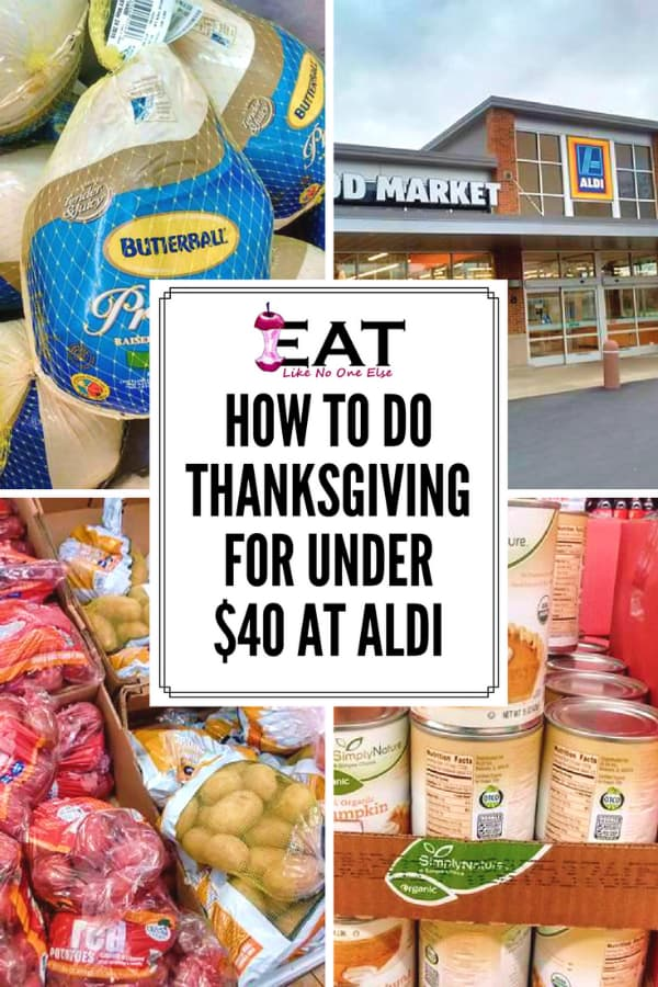 Thanksgiving for under $40 at ALDI Thanksgiving turkey shopping guide price