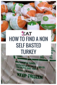How to Find a Non Self Basted Turkey