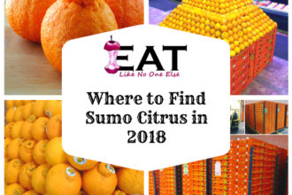 Where to Find Sumo Citrus Orange Mandarins in 2018