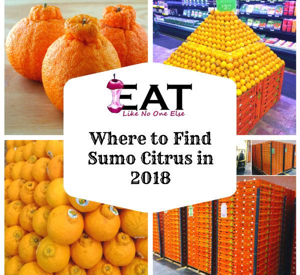 Where to Find Sumo Citrus Orange Mandarins in 2018