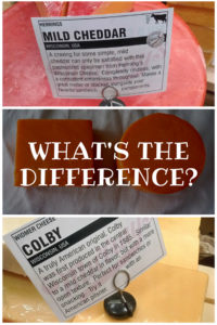 What is the Difference Between Cheddar and Colby Cheese?
