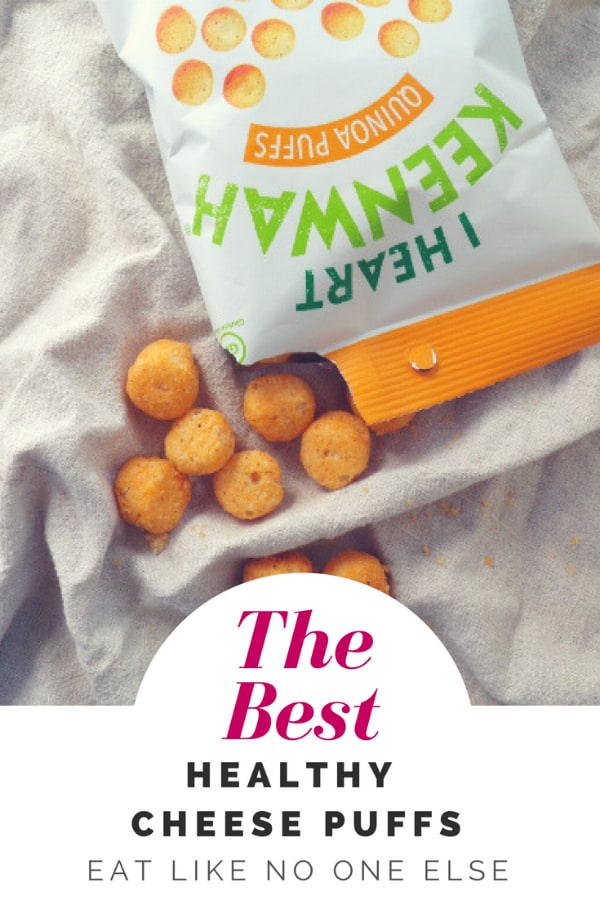The Best Healthy Cheese Puffs Made with Quinoa Flour