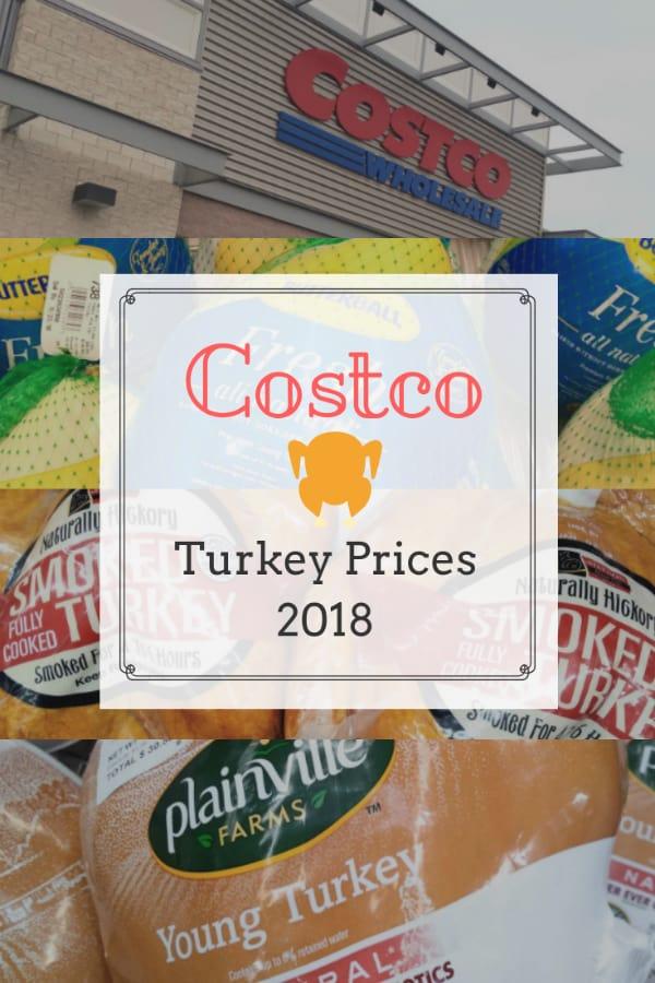 Costco Turkey Prices Near Me 2018