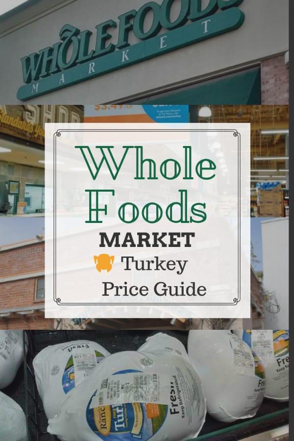 Whole Foods Fresh Turkey Order