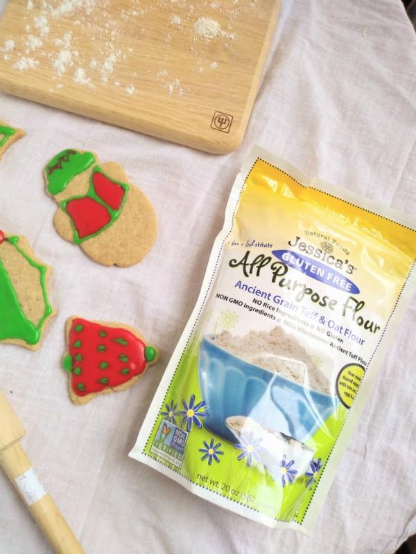 Alton Brown's Gluten Free Sugar Cookies