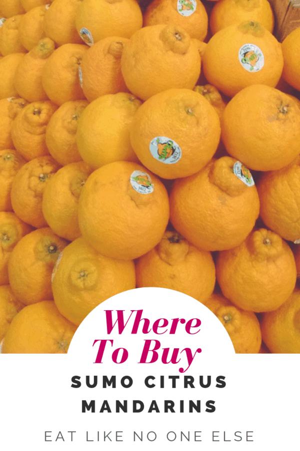 Find Sumo Citrus Oranges Mandarins Near Me