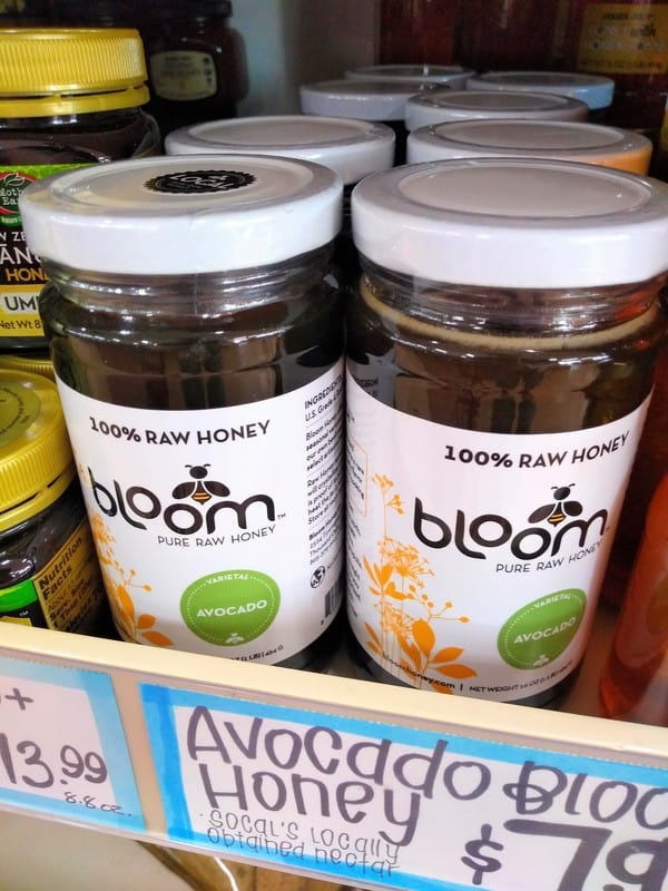 Bloom 100% Raw Avocado Blossom Honey
