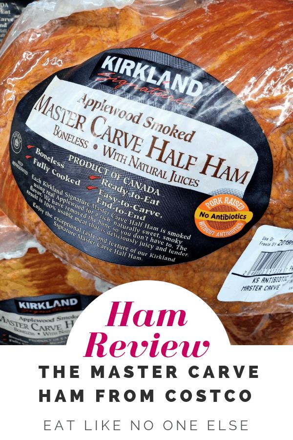 Costco Kirkland Master Carve Boneless Half Ham Review