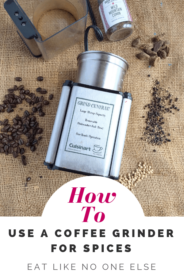 How to Use a Coffee Grinder for Spices
