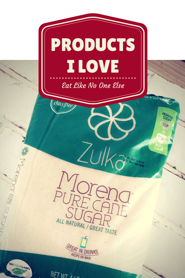 Zulka Morena Pure Cane Sugar 4 pound bag