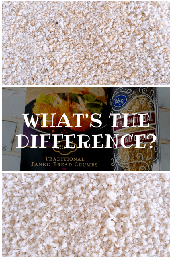 What's the Difference Between Regular & Panko Bread Crumbs