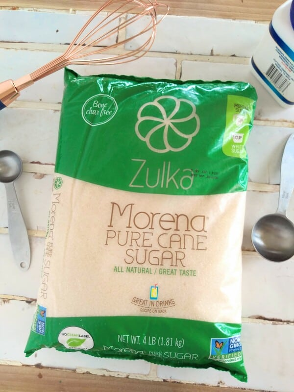 Zulka Morena Pure Cane Sugar for baking