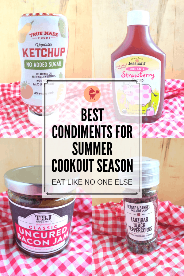 Best Condiments for Summer Cookout Season