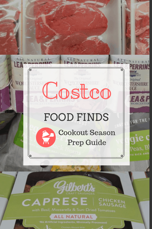 Costco Food Finds - Cookout Season Prep Guide