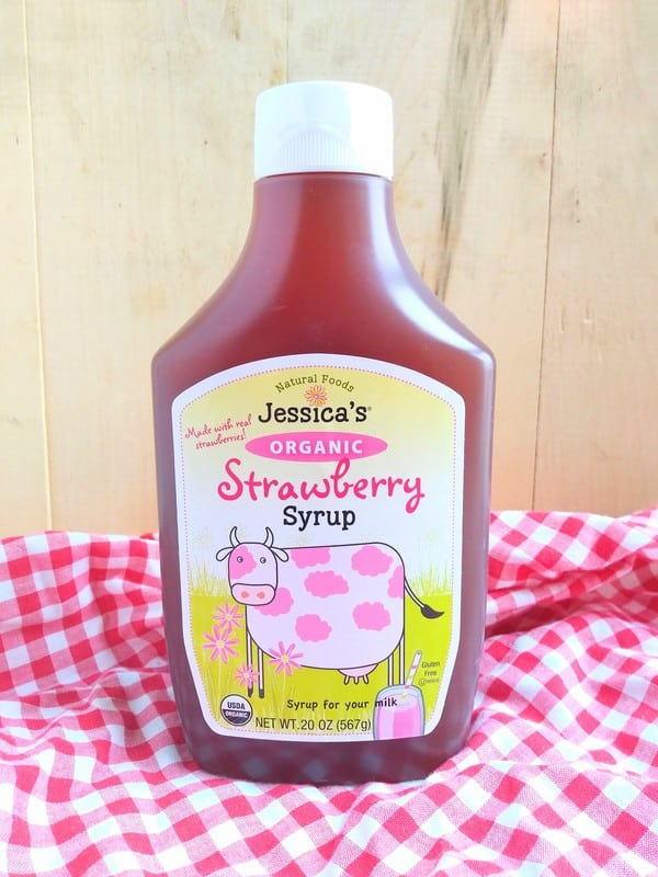 Jessica's Organic Strawberry Syrup