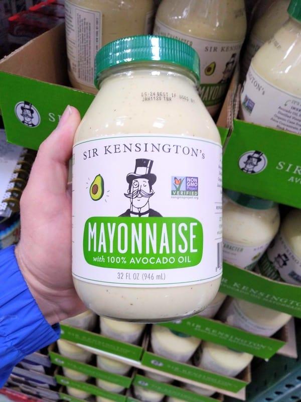Sir Kensington's Mayonaise with 100% avocado oil